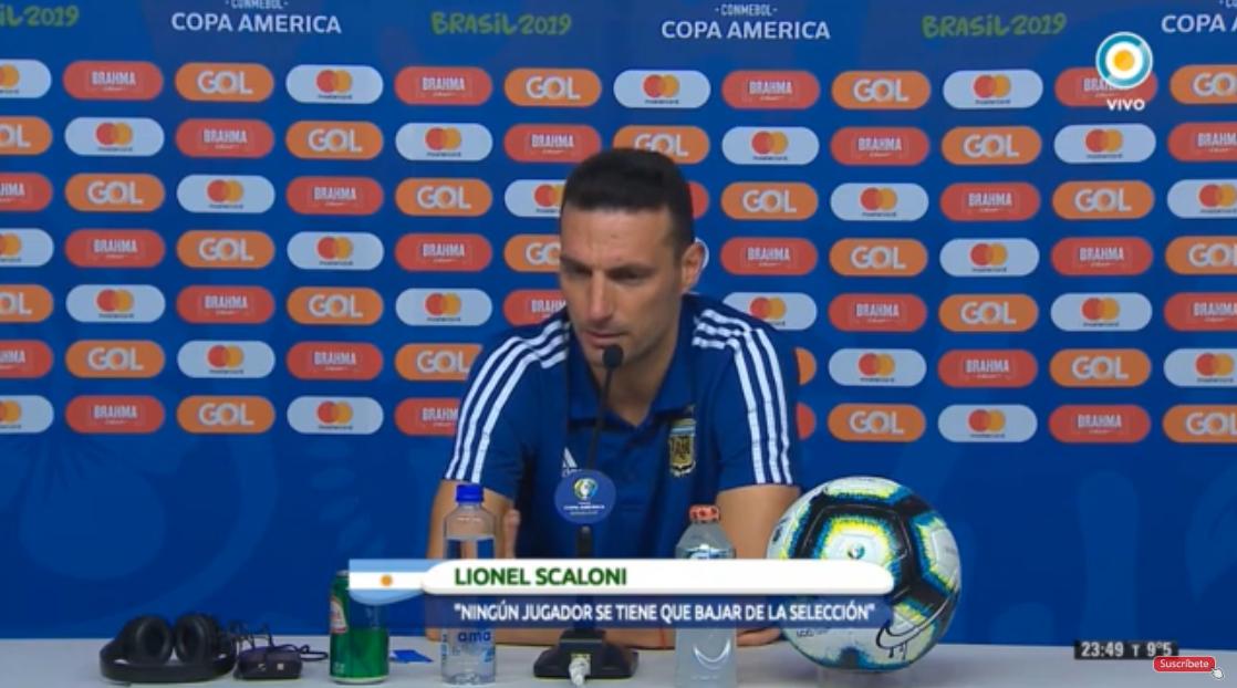 斯卡洛尼:这位裁判没有执法巴西vs阿根廷的水平