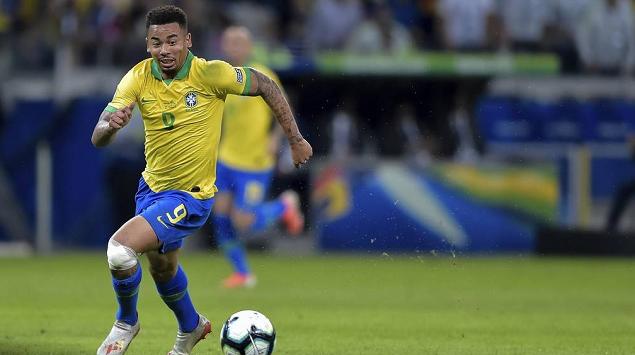 热苏斯传射阿圭罗梅西中框,巴西2-0阿根廷晋级决赛