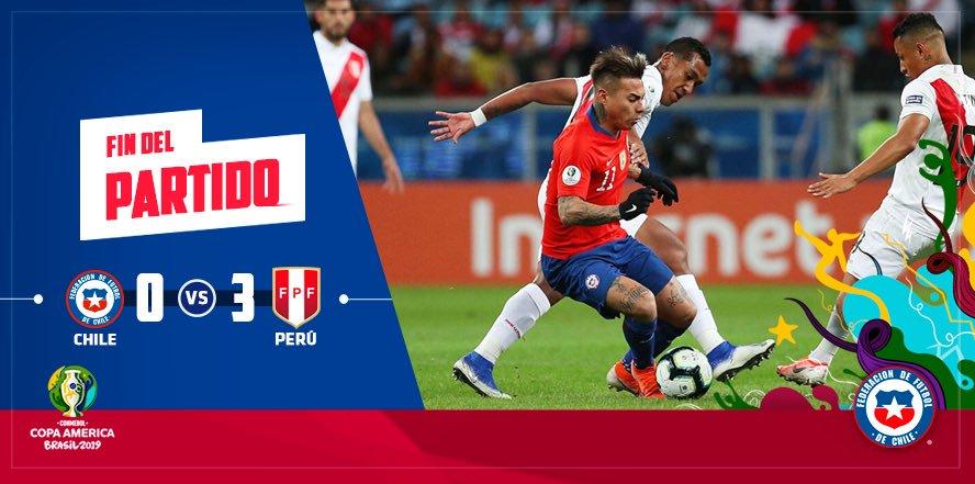王朝落幕,智利队美洲杯淘汰赛7连胜历史纪录终结