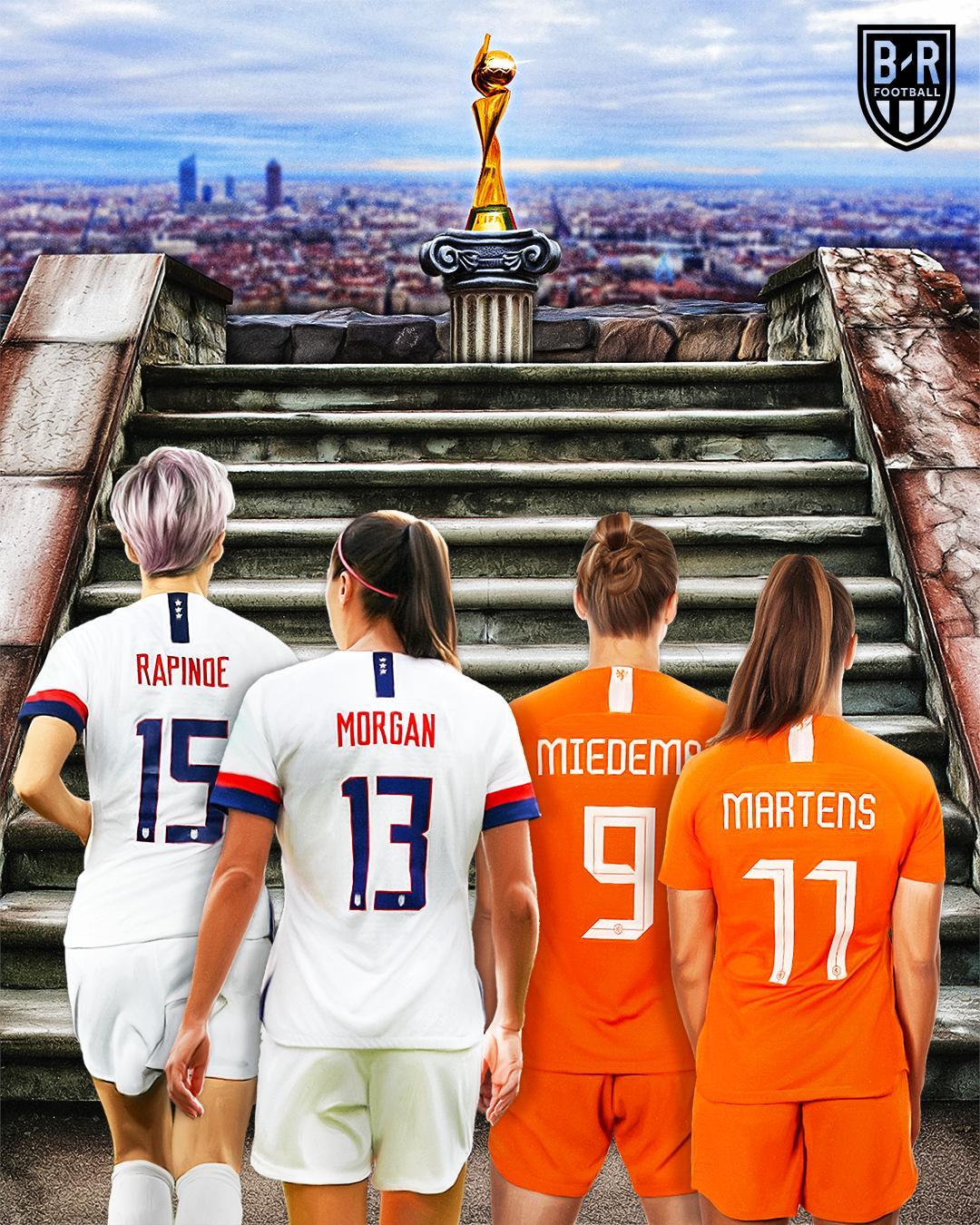 夺冠赔率低至9赔2,美国有望击败荷兰卫冕女足世界杯