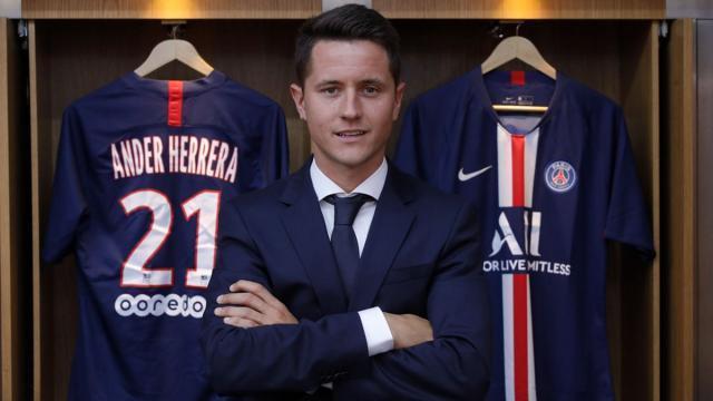 埃雷拉:巴黎是大俱乐部,这里有几名能拿金球奖的球员