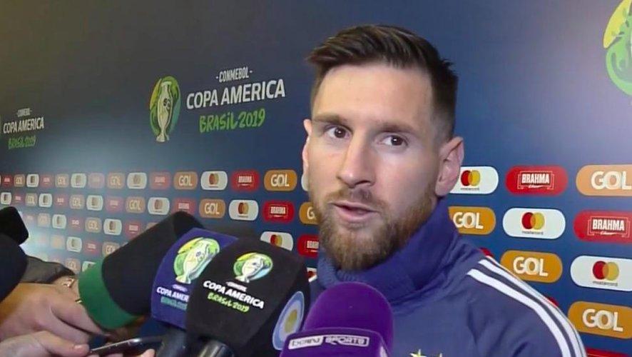 梅西赛后攻击南美足联 按规定恐招致最多2年禁赛