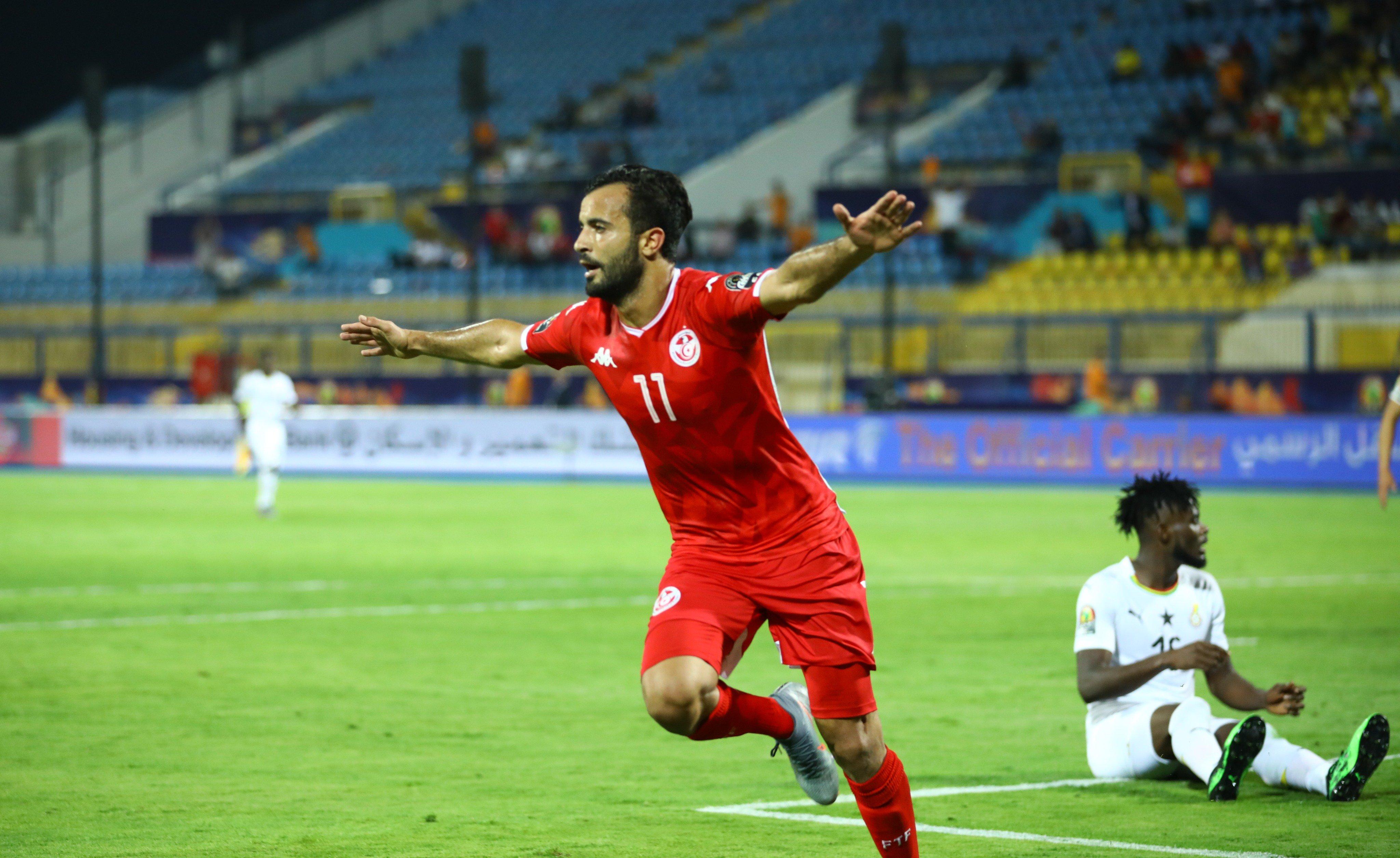 补时遭乌龙绝平无碍晋级, 突尼斯点杀进非洲杯八强