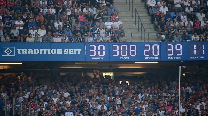 珍贵!德国足球博物馆希望收藏汉堡大钟