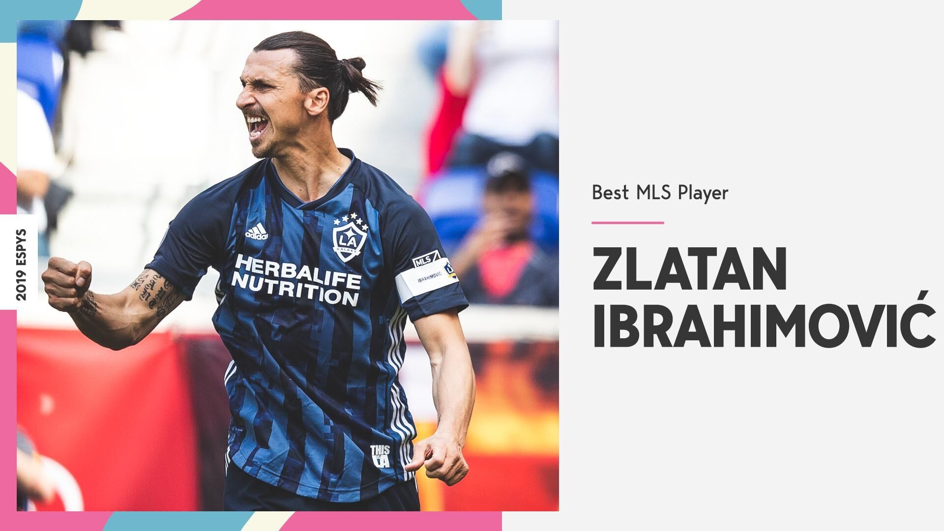 还是那个Zlatan!伊布当选ESPY美职联最佳球员