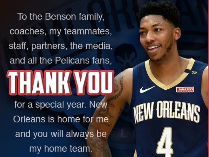 小佩顿:新奥尔良就像家,鹈鹕永远是我的主队