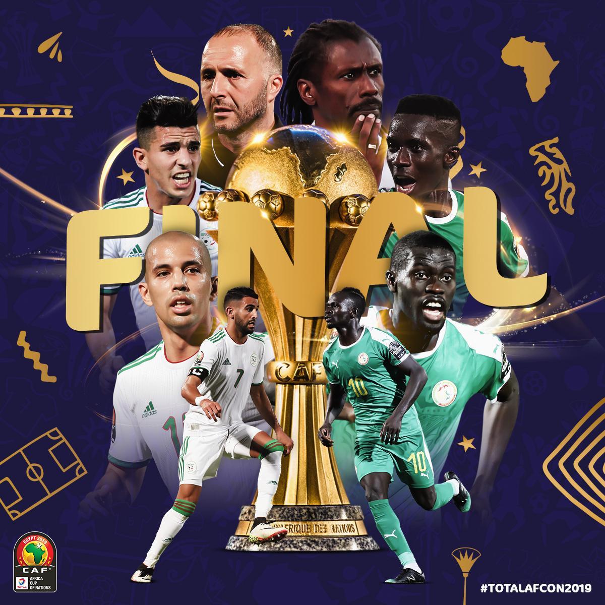 马内再战马赫雷斯,塞内加尔阿尔及利亚会师非洲杯决赛