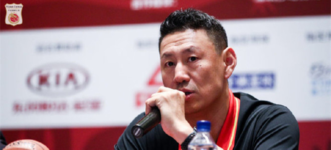 李楠:参加斯杯对男篮是很好的锻炼机会