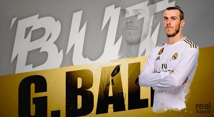 GIF:贝尔补射破门扳回一城,皇马1-2阿森纳