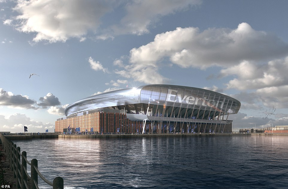 豪掷5亿镑!埃弗顿盼在水边建设新球场
