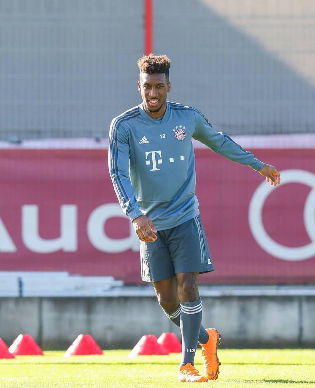 科曼:当然希望萨内能来, 现在拜仁缺了两个边锋