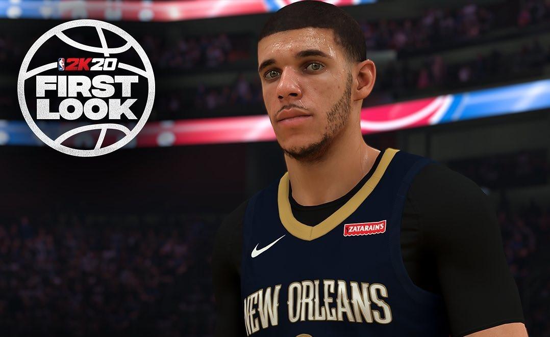 NBA2K20公布后卫朗佐- 鲍尔能力值: 79