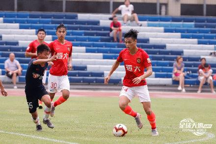 预备队联赛:张修维、吴少聪进球,恒大7-2大胜人和