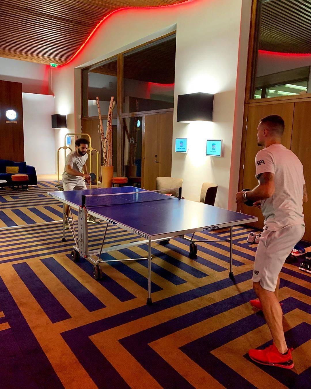 洛夫伦回击魔笛嘲笑:萨拉赫跟你同样,打乒乓只会戍守
