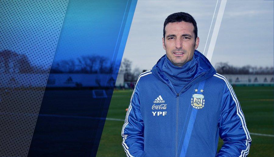 官方:阿根廷足协与斯卡洛尼续约,将带队出战世预赛