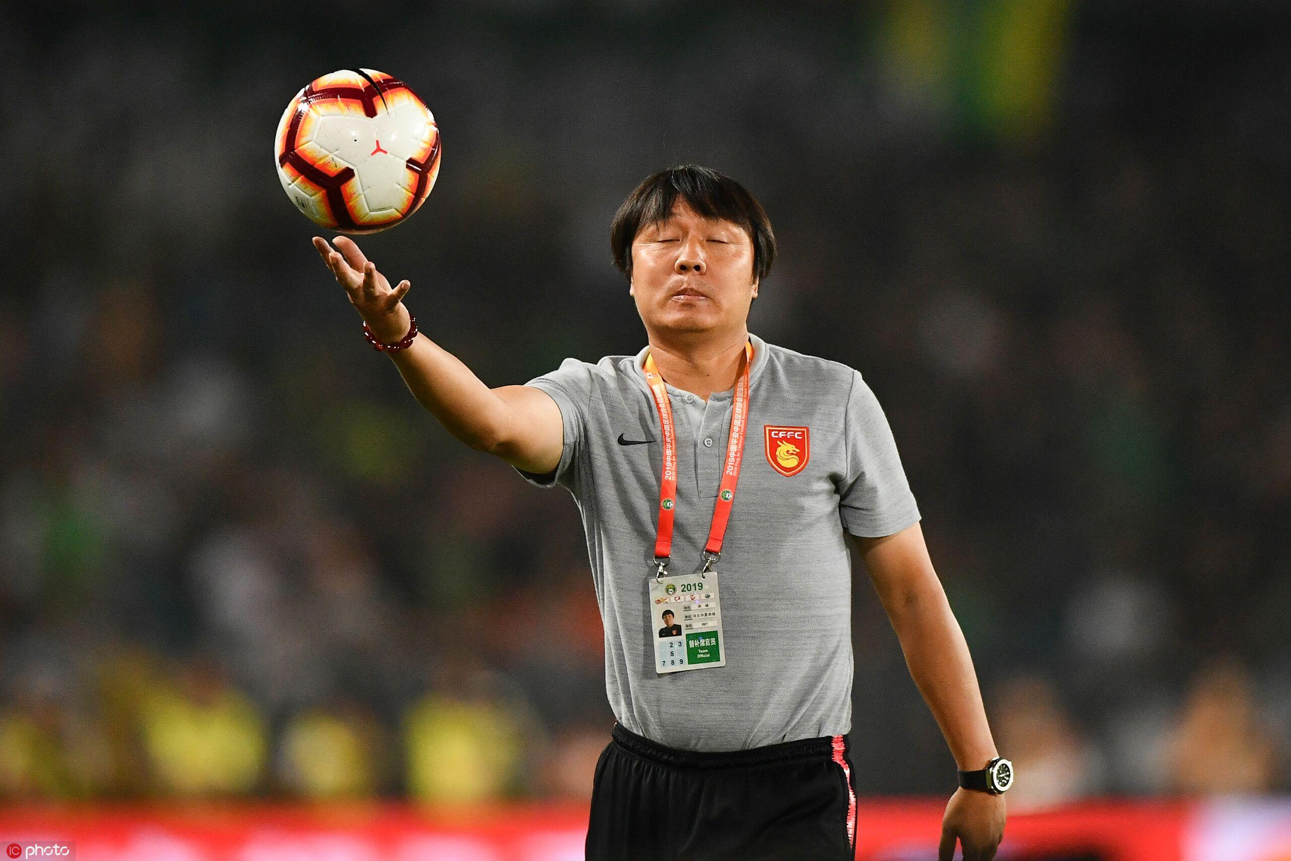 谢峰:为球员的表现骄傲,客场没拿分并不遗憾