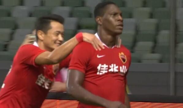 GIF:塞尔纳斯助攻马里头球破门,深足1-0人和