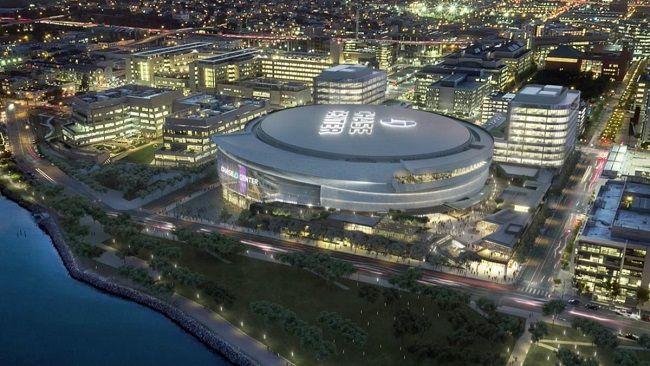 旧金山一条路被更名为勇士路,新球馆地址将是勇士路1号