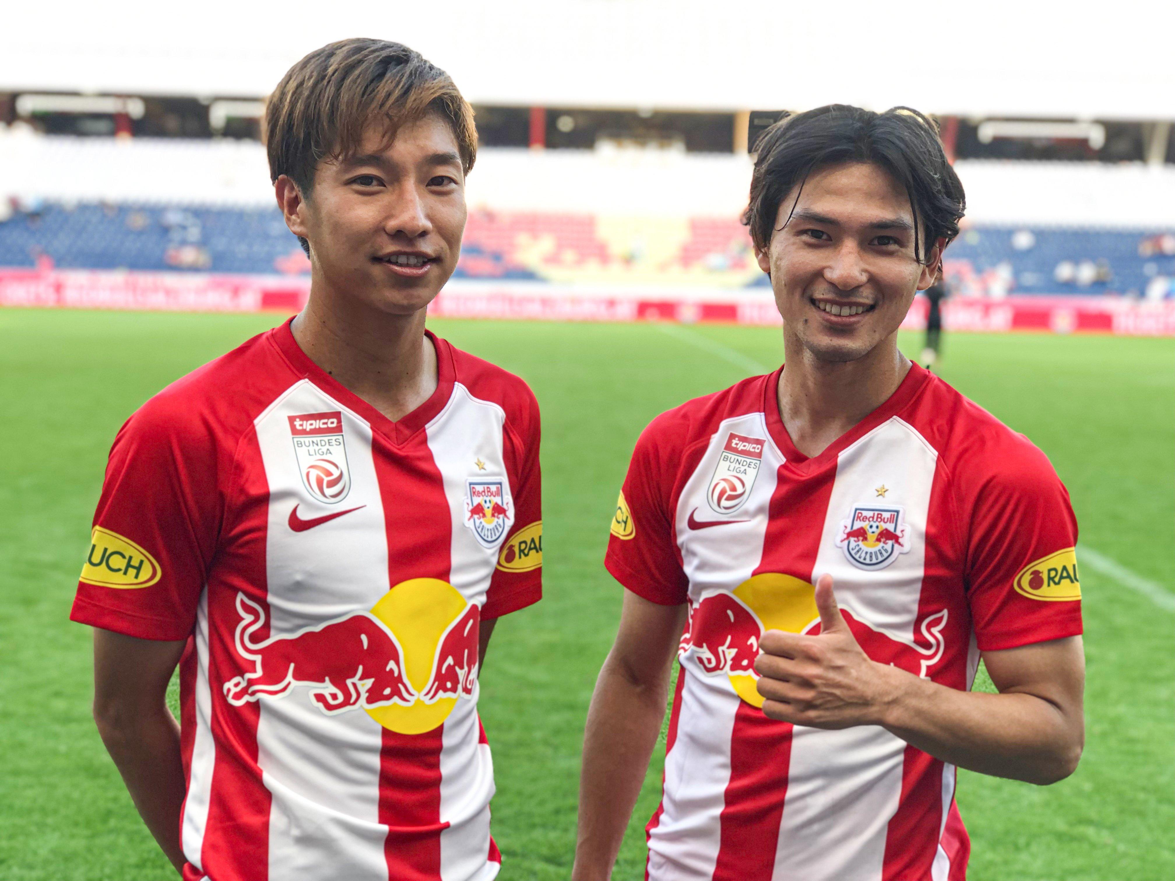 日本双星连场各入一球,萨尔茨堡取奥甲残局两连胜