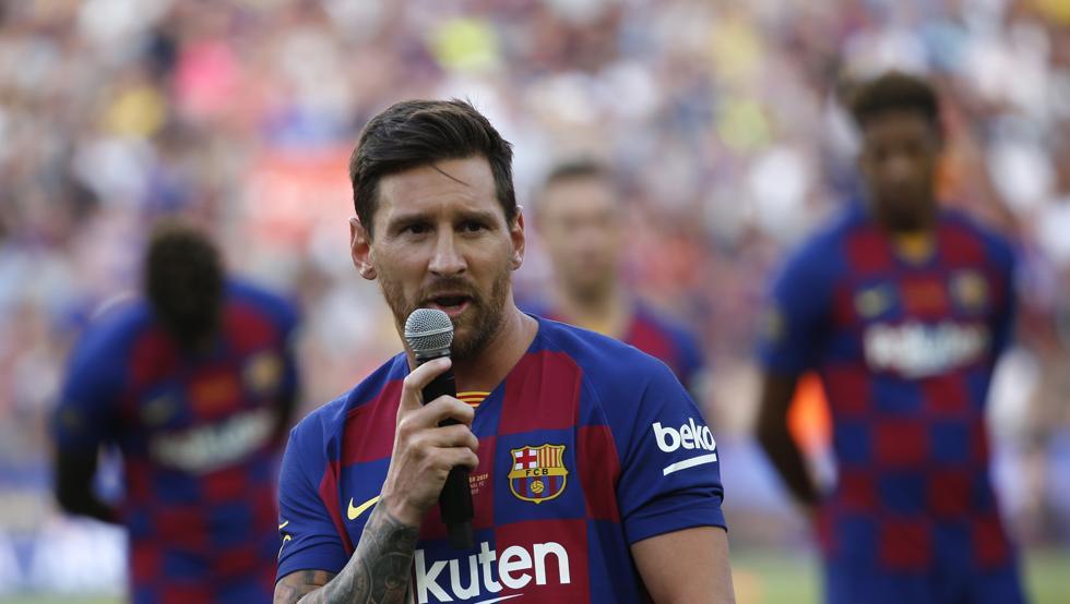 世体:虽有出场要求,但梅西是因伤缺席,巴萨不用赔偿