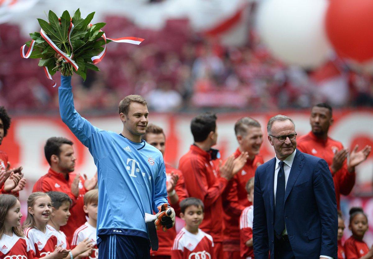 鲁梅尼格称赞诺伊尔:拜仁需要顶级门将,而我们队内就有