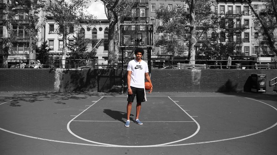 我们不在盛夏逃离城市!NBA官网发布众篮网球员组图