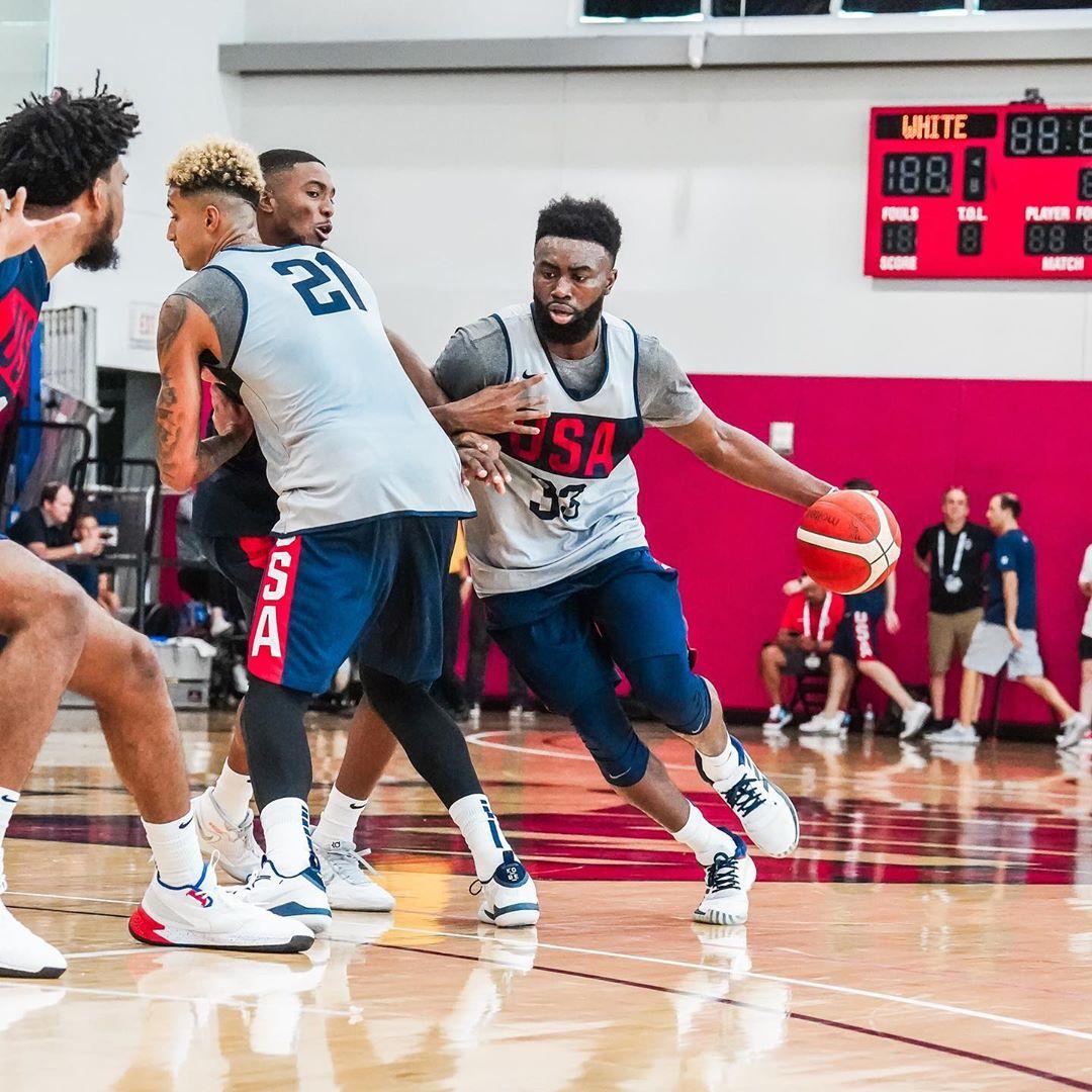 美国男篮民间晒美国男篮训练营第三天图集