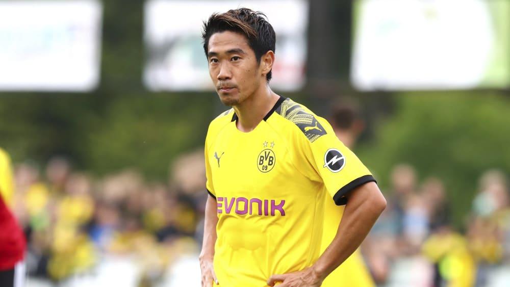 踢球者:没找到下家,香川真司在和多特U23训练保持状态