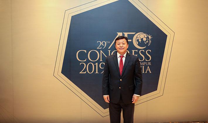官方:足协党委书记杜兆才当选亚足联裁判委员会主席