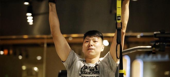 李敬宇晒训练照:但求坚强比磨难多一点