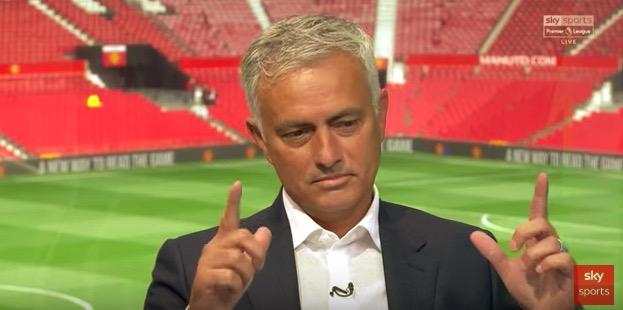 穆里尼奥:只有曼城、热刺、利物浦和曼城B队能争冠