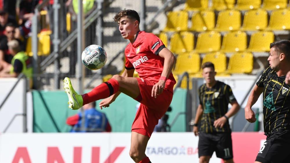 德国足球先生排名第二,哈弗茨:我会继续努力成为第一