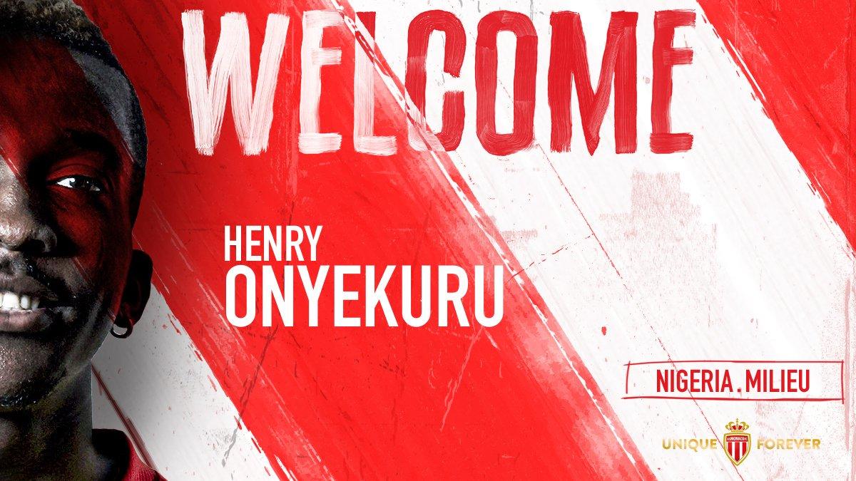 官方:摩纳哥签下埃弗顿小将恩耶库鲁,球员签约5年
