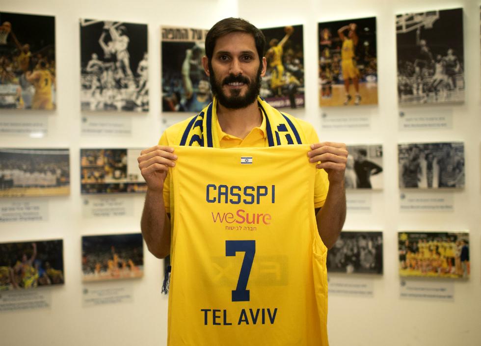 官方:以色列俱乐部特拉维夫马卡比签约欧米-卡斯比