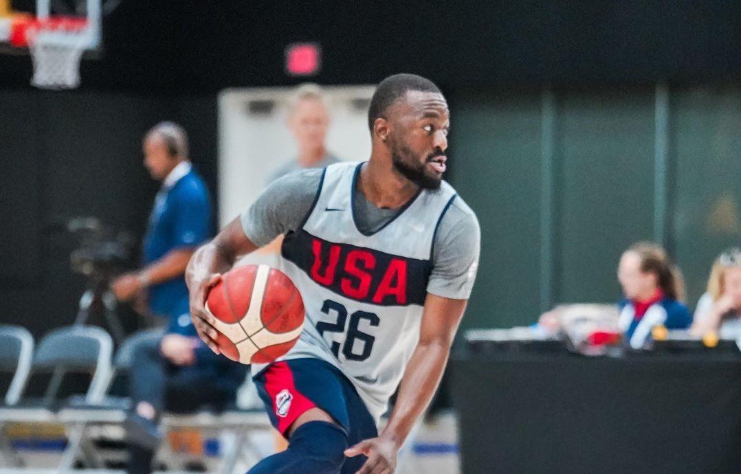 美国男篮晒出球队训练照:回来训练了