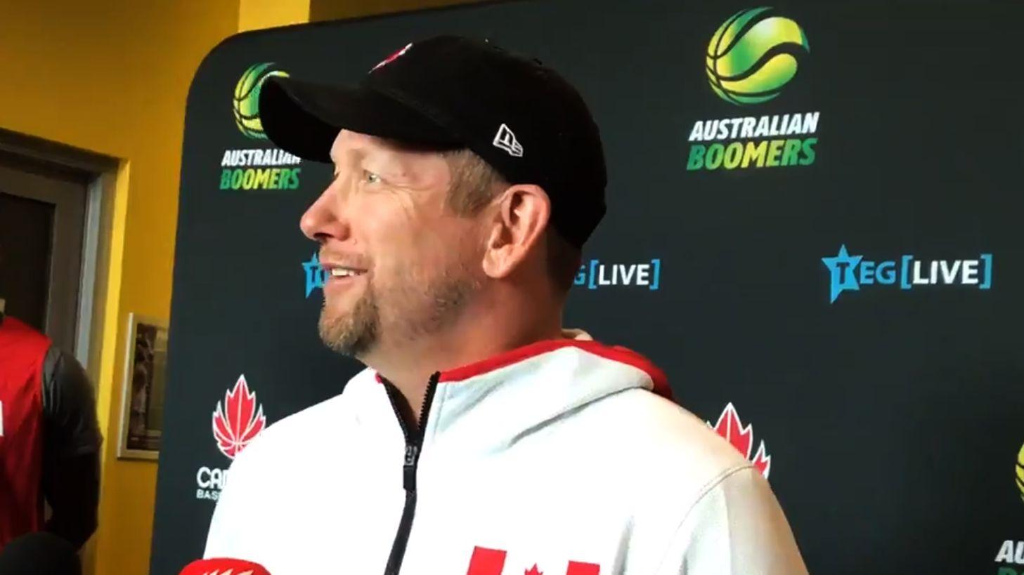 尼克-纳斯:我认为加拿大篮球正处于一个有趣的关键阶段