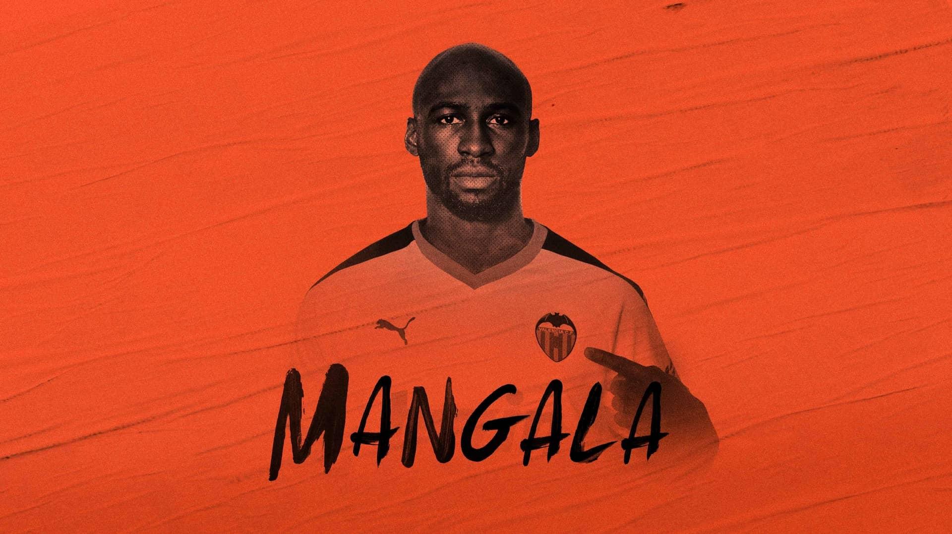 官方:瓦伦西亚从曼城免费签下后卫曼加拉,签约2年