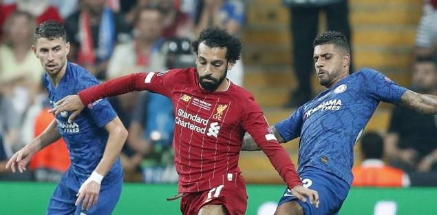 足球世界:半场:吉鲁破门佩德罗中框,切尔西1-0利物浦