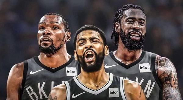 篮网6名球员能力值公布:杜兰特96,欧文91