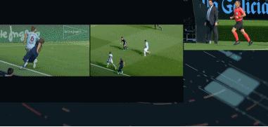 GIF:莫德里奇踩踏丹尼斯-苏亚雷斯被红牌罚下