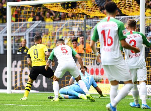 高效!帕科27场德甲联赛已经攻入20球
