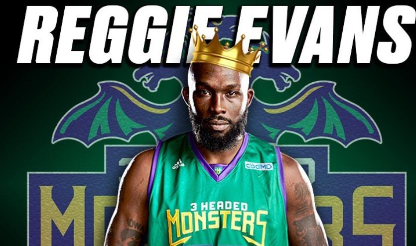 篮板猛兽!雷吉-埃文斯创BIG3联赛通例赛总篮板数纪录