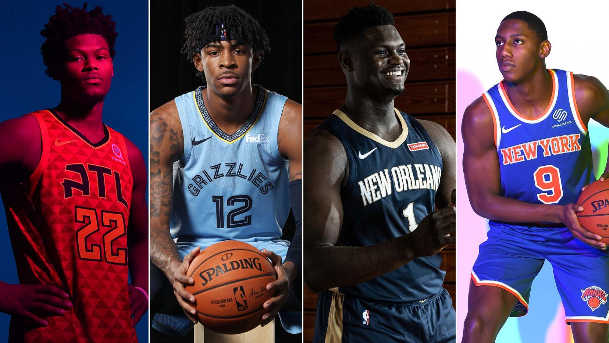 NBA新秀调查之最佳新秀:前三顺位分列前三,雷迪什上榜