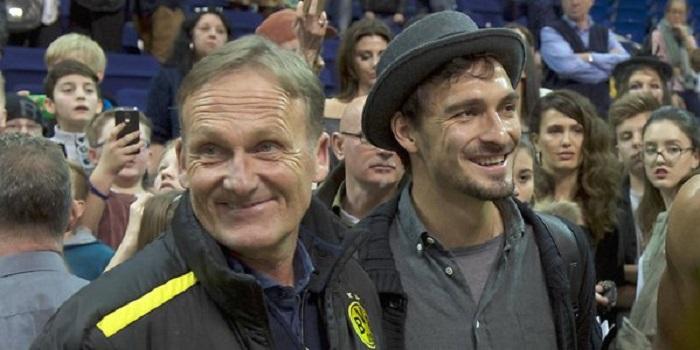 瓦茨克:胡梅尔斯在拜仁的三年里,一直互相保持着联系