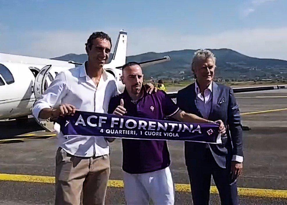 里贝里已抵达佛罗伦萨,预计今日接受体检并签约