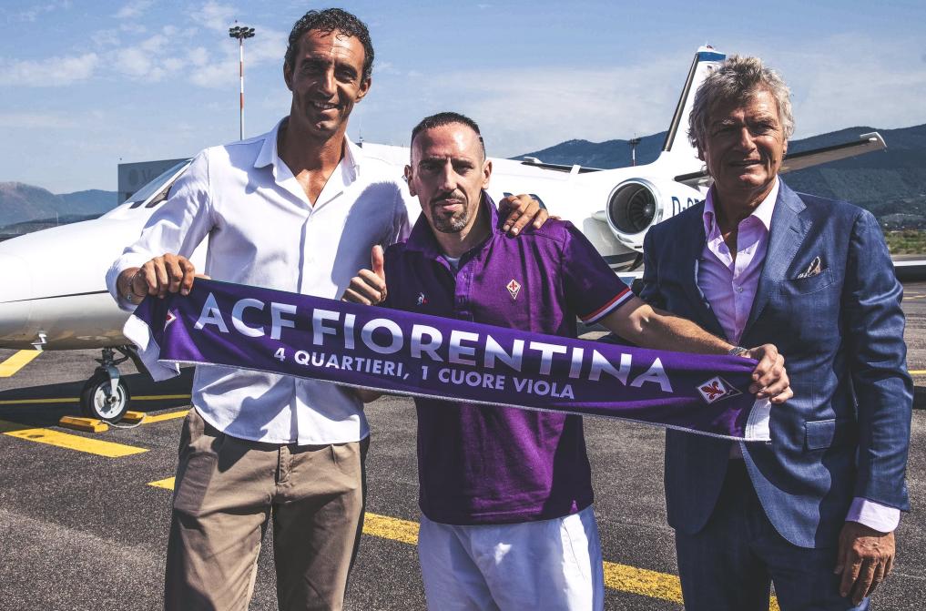 官方:里贝里加盟佛罗伦萨