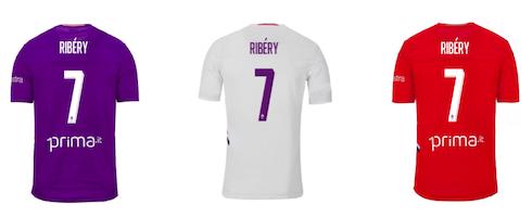 紫百相符新援大度让号,里贝里将穿上佛罗伦萨7号