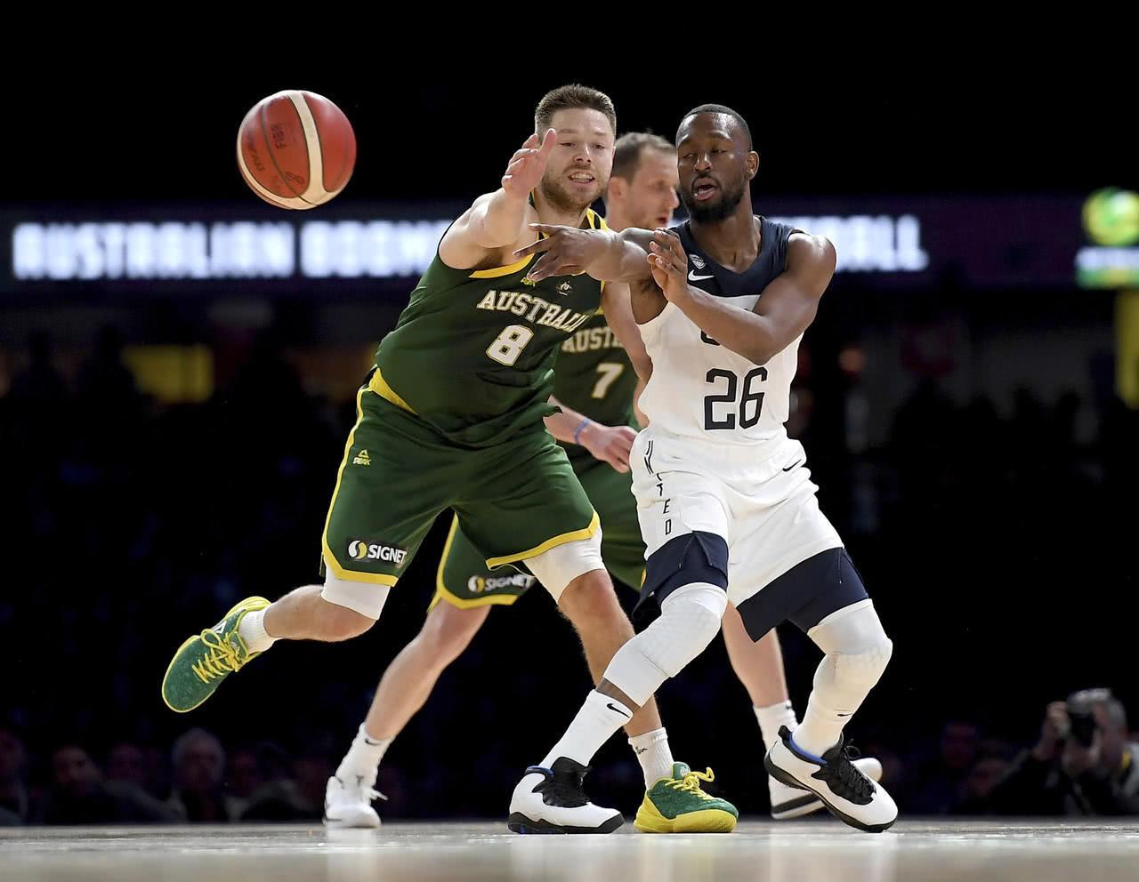 美国与澳大利亚热身赛现场观众人数刷新澳大利亚国内纪录