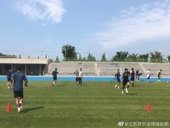 多图流:苏宁抵韩开启为期12天夏训,将热身水原等队