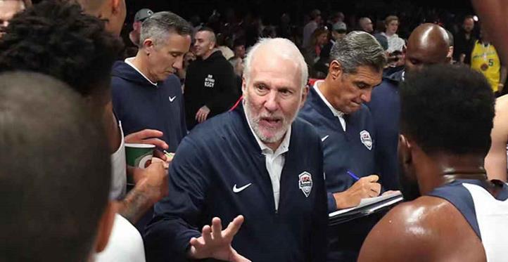 波波谈美国男篮国际赛场的78连胜被终结:没人能一直赢